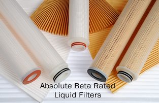 Absolute Beta Rated Liquid Filters